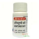 Agnitundi bati, 80 tablets