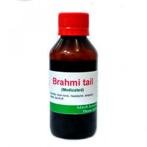Brahmi tail Adarsh Ayurvedic Pharmacy, 200 ml