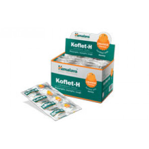 Lozenges for cough Koflet H Orange Himalaya, 12 pc