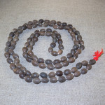 Rosary from lotus seeds
