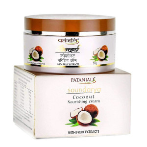 Cream nourishing coconut Soundarya Patanjali, 50 grams
