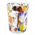Glass multicolored, 350 ml